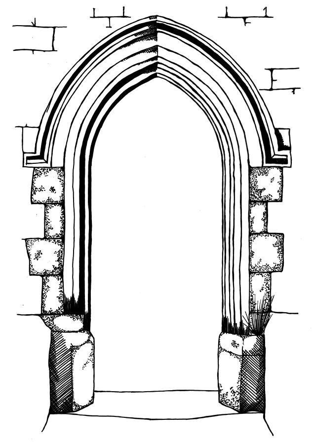 Arch Drawing At Getdrawings Com Free For Personal Use