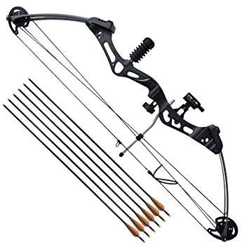 355x355 Vidaxl Adult Archery Compound Bow 35 40 50 Lb With Accessories