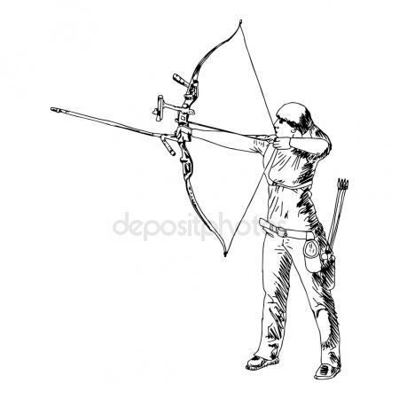 450x450 Illustration Vector Doodle Hand Drawn Sketch Of Female Sport