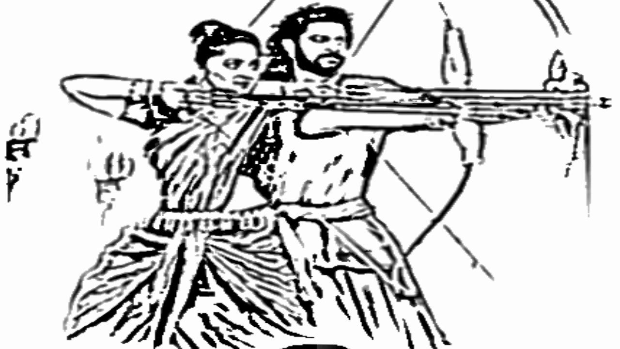 1280x720 World Fastest Drawing Bahubali 2 Movie Pictures