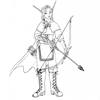 320x320 Archery Drawings On Paigeeworld. Pictures Of Archery
