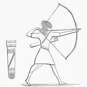 300x300 Archery Drawings Fine Art America