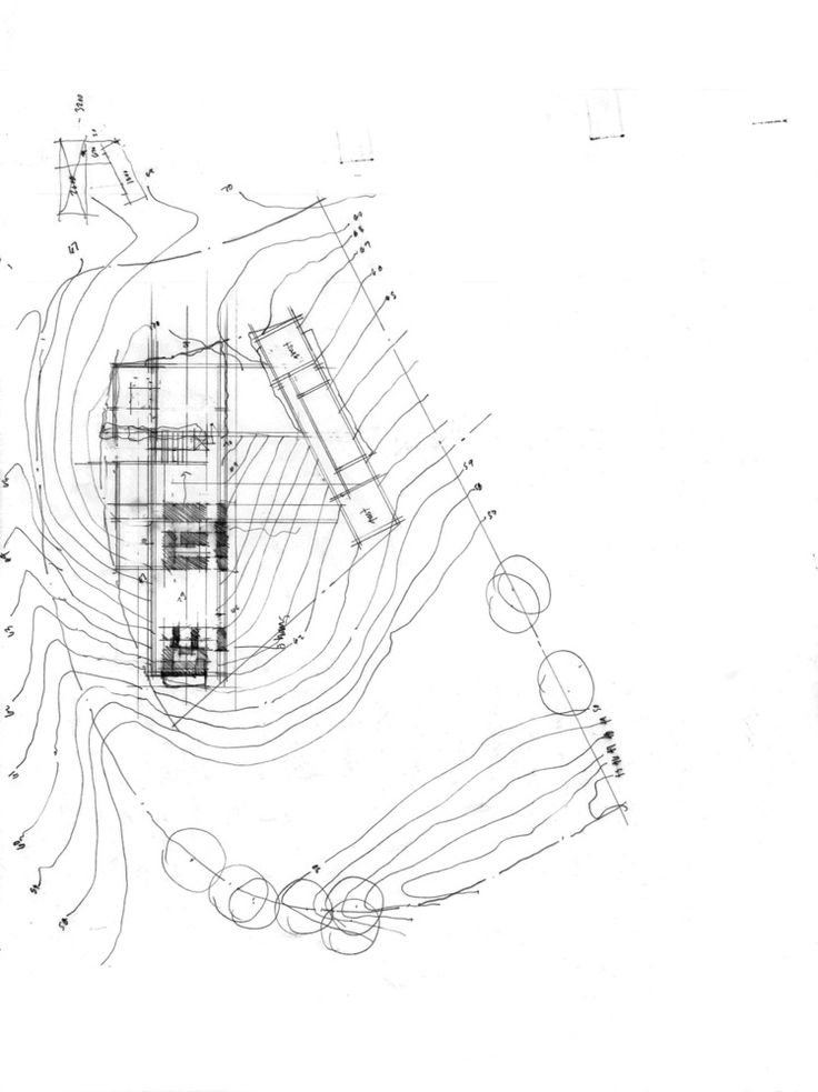 Architect Hand Drawing