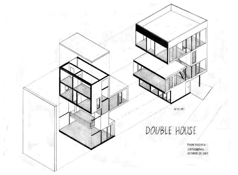 756x557 Double House, Mvrdv Housing Double House, House