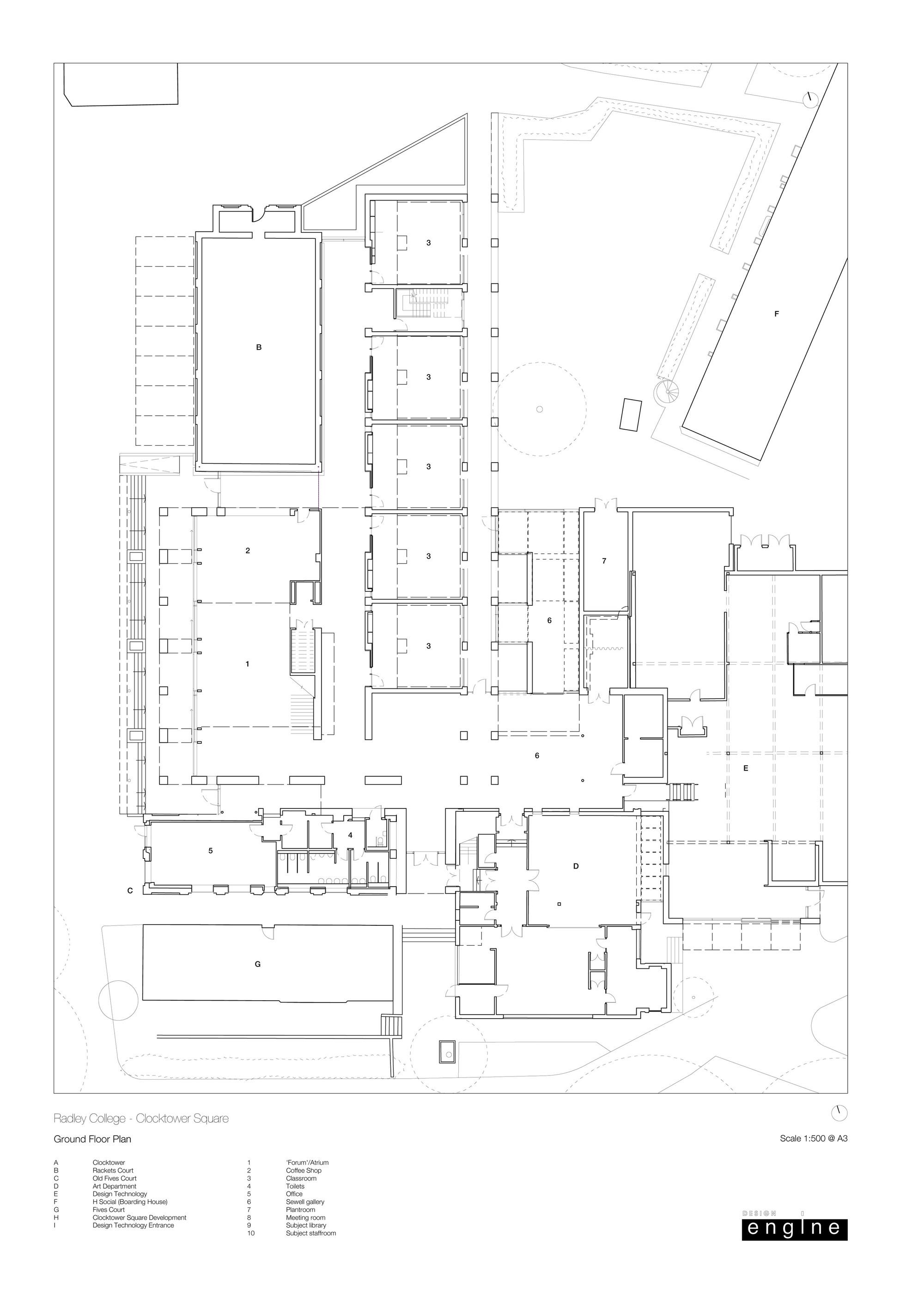 2000x2829 Gallery Of Radley College Design Engine Architects