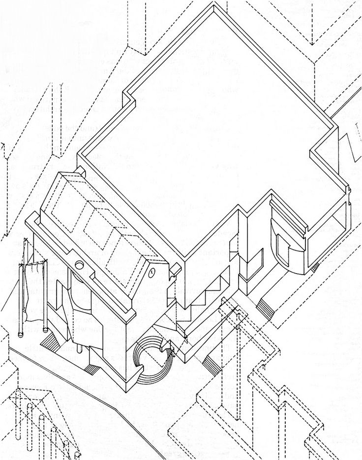 736x933 65 best assonometrie images on Pinterest Architecture drawings