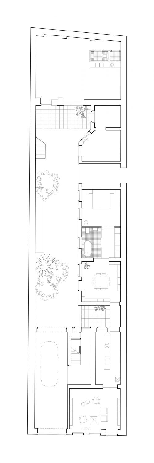 499x1500 Dyvik Kahlen Architects plan section rendering site plan