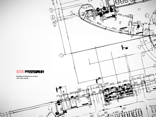 500x375 Architectural Drawing Design Elements Vector 04