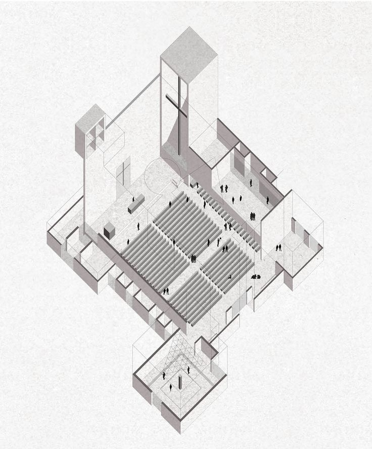 736x887 Image Result For Axonometric Architectural Drawing Drawing Style