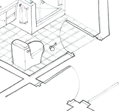 500x466 Bathroom Architectural Drawings Easywash.club