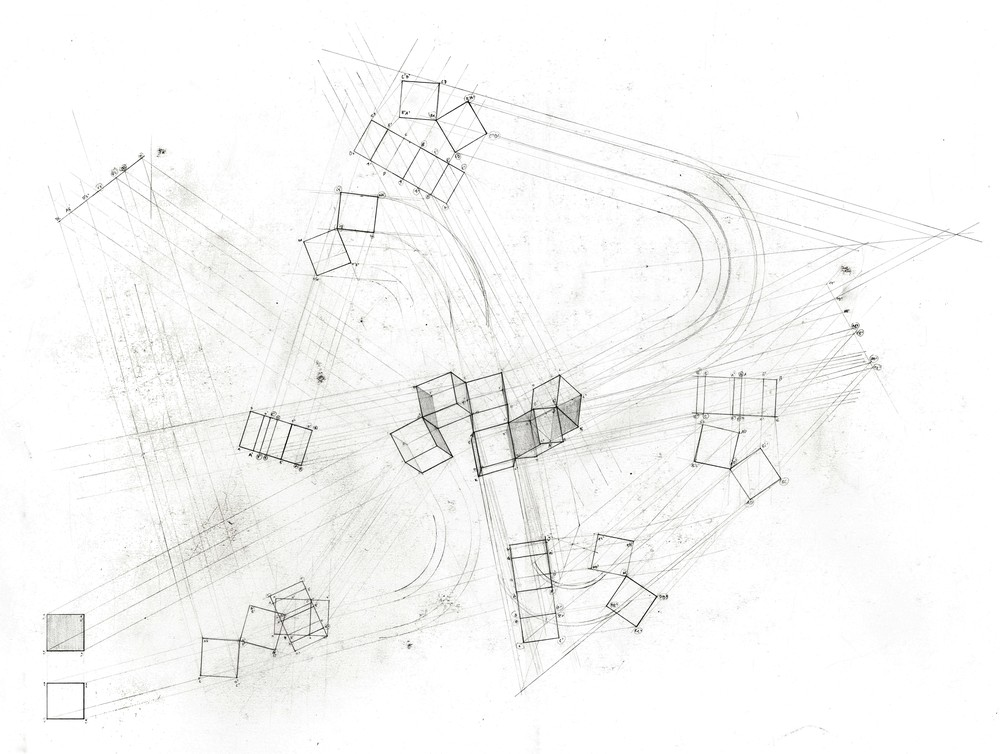 1000x754 Jonathan Sun Constructed Perspectives And Geometries