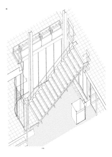 Architectural Drawing Stairs