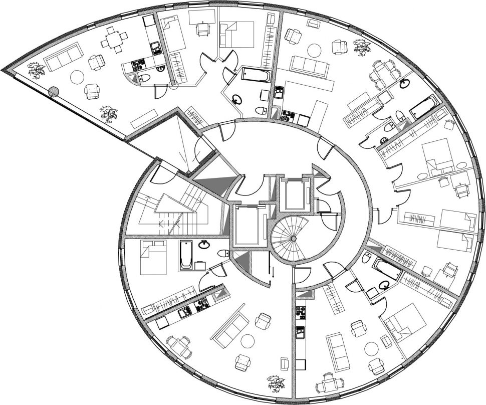 970x808 Floor Plan Architectural Floor Plans Drawing Plan House Home
