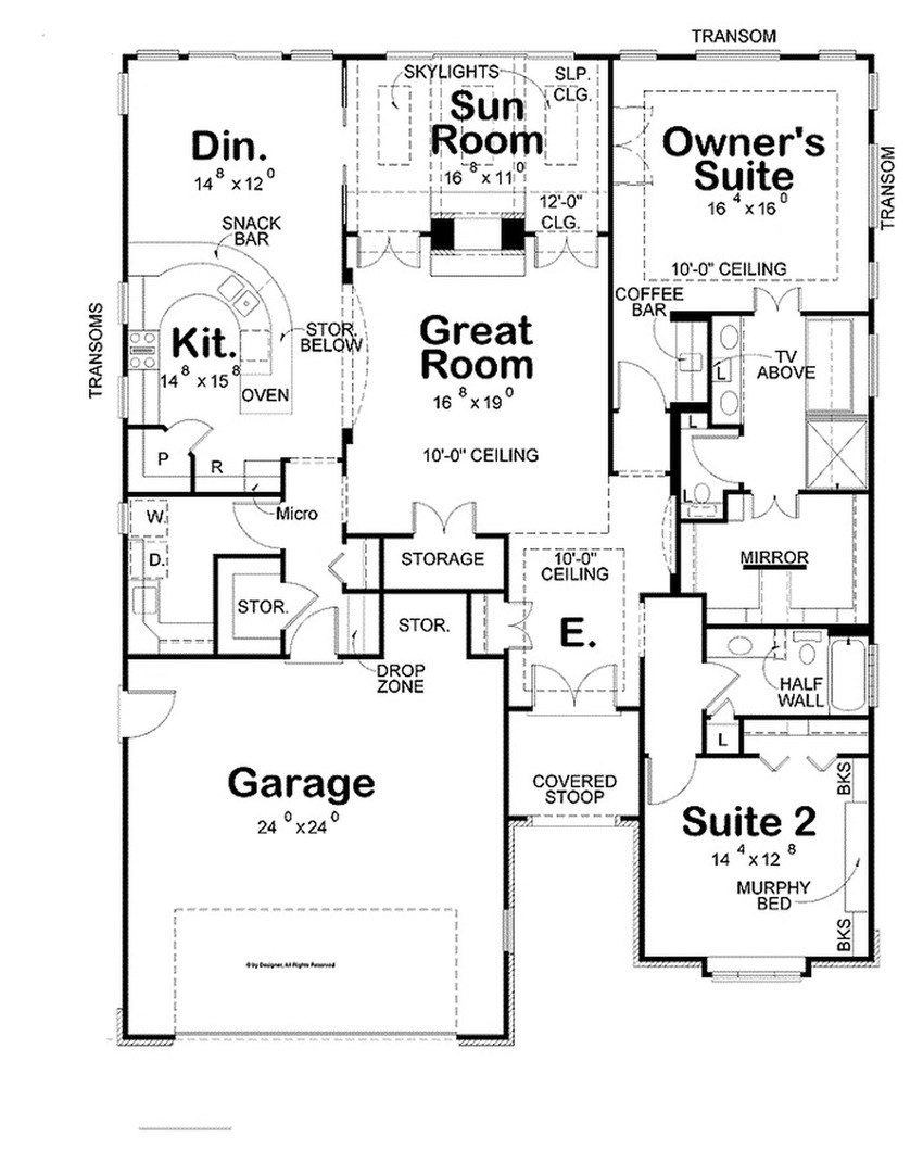 850x1082 Free Kitchen Floor Plan Symbols Maker Of Architect Software