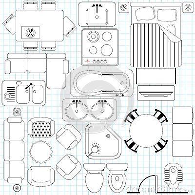 400x400 8 Best Top View Plan Images On Symbols, Architecture
