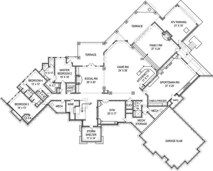 735x593 The Best Custom Floor Plans Ideas On Sims 3 Houses