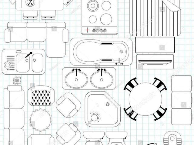 640x480 The Images Collection Of For Plans New Clip Art Home Floor