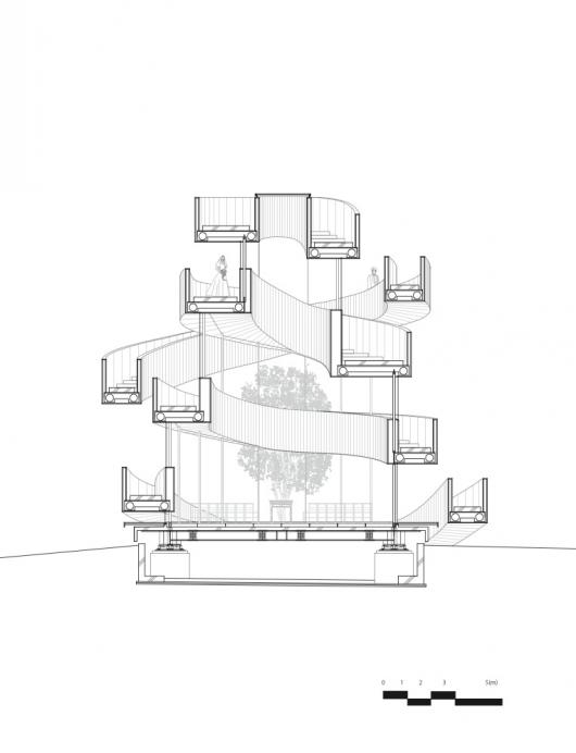 530x692 Gallery Of Ribbon Chapel Hiroshi Nakamura Amp Nap Architects