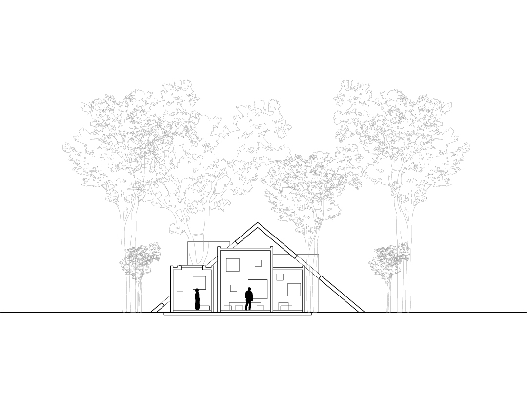 1080x810 Gallery Of Villa Toiture Kotaro Horiuchi Architecture