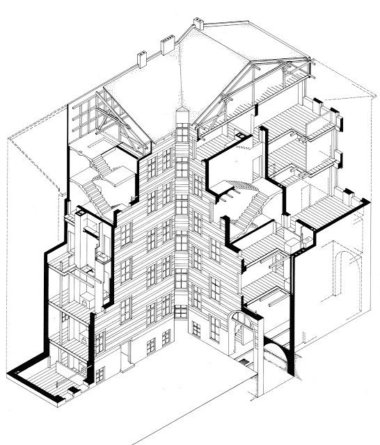 546x640rchitectures Urban Catalystxonometric Sectioncross
