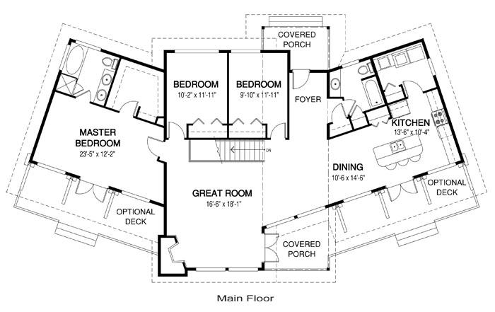 700x441 Architectural Floor Plans
