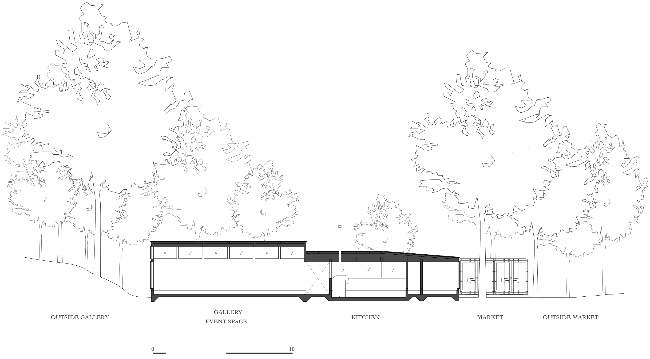 architectural tree drawing at getdrawings com free for personal