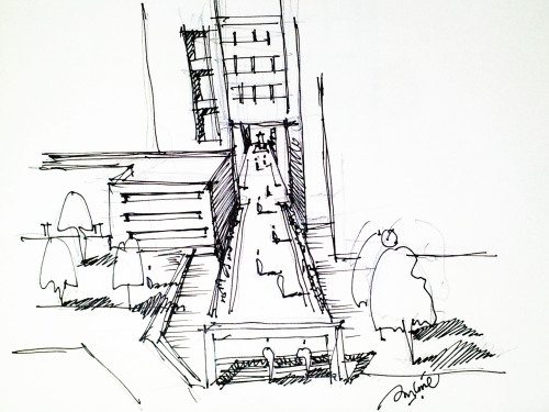 500x375 Architecture Sketch Blog