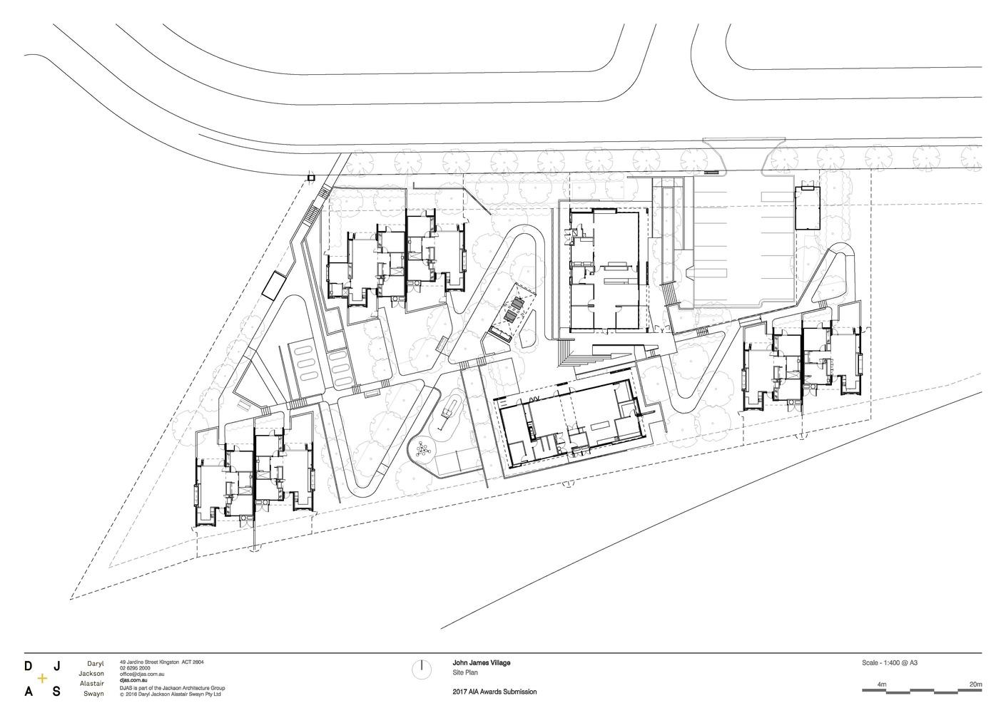 1410x1000 Gallery Of John James Village Djas Architects