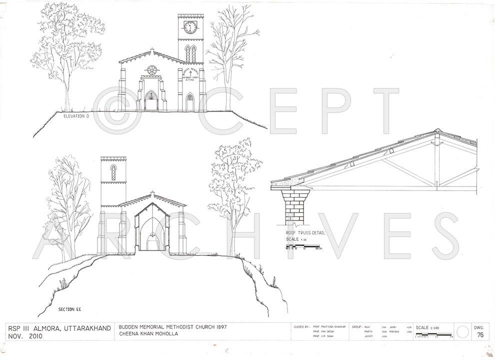 990x720 Almora Institute Amp Houses, Uttarakhand, India Architectural