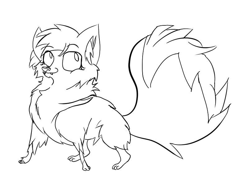 750x575 Sketch Of My Animal