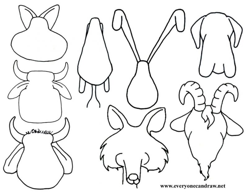 805x623 Drawing How To Draw An Arctic Animal Together With How To Draw