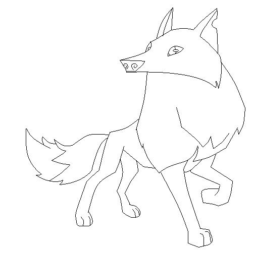 503x504 Animal Jam Arctic Wolf Base By Pinkkittymoon
