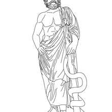 220x220 Ares The Greek God Of War Coloring Pages