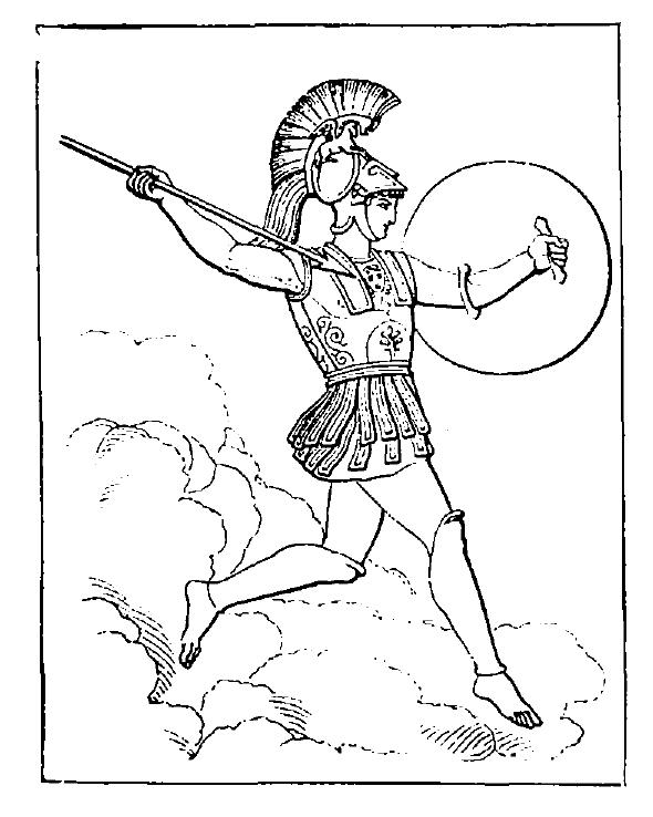 590x738 Ares (Mars). Legendary Mythology
