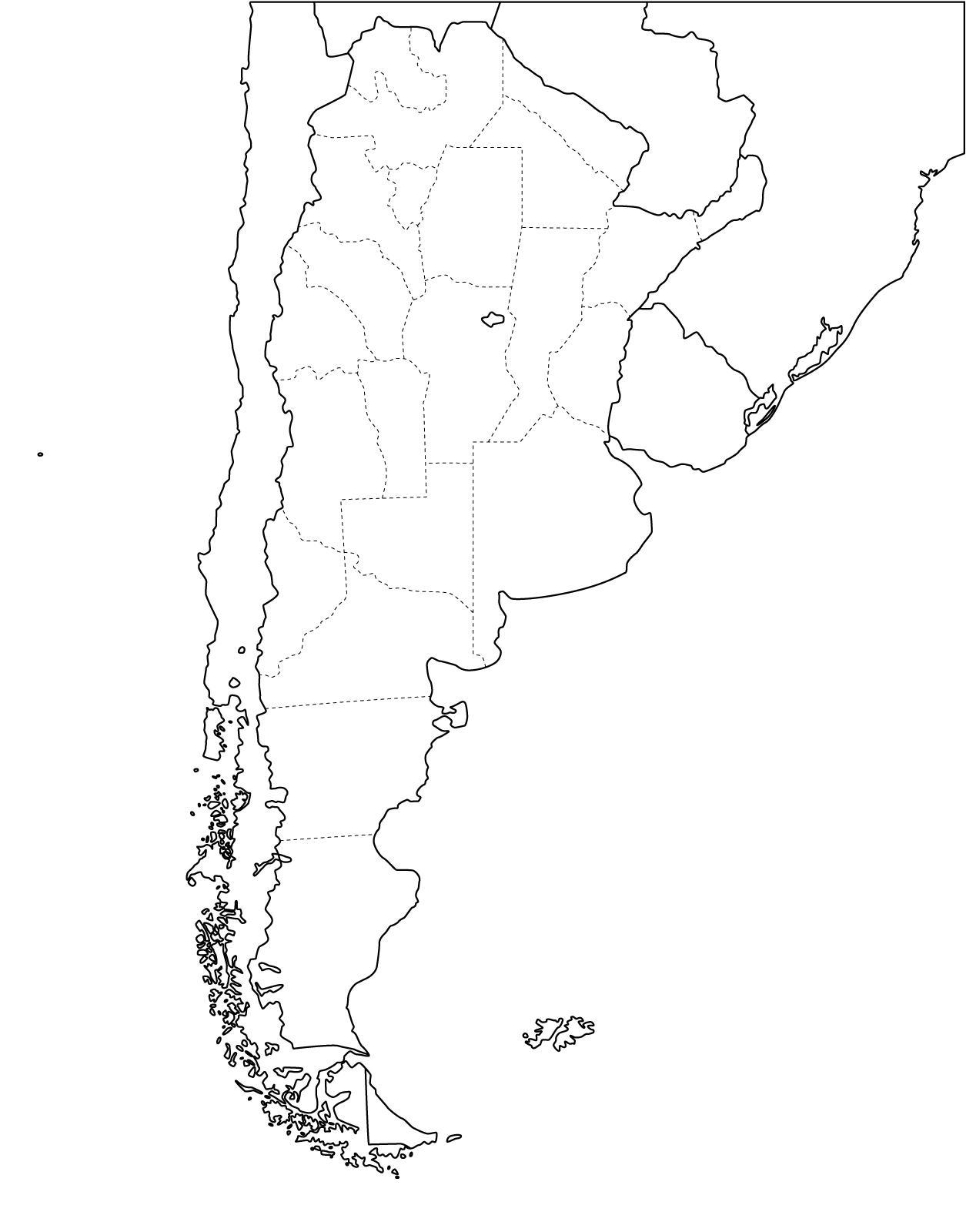 1255x1600 Resultado De Imagen De Mapa Argentina Politico Tatoo Colibri