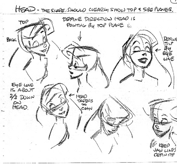584x541 The Art Of Glen Keane. Ariel
