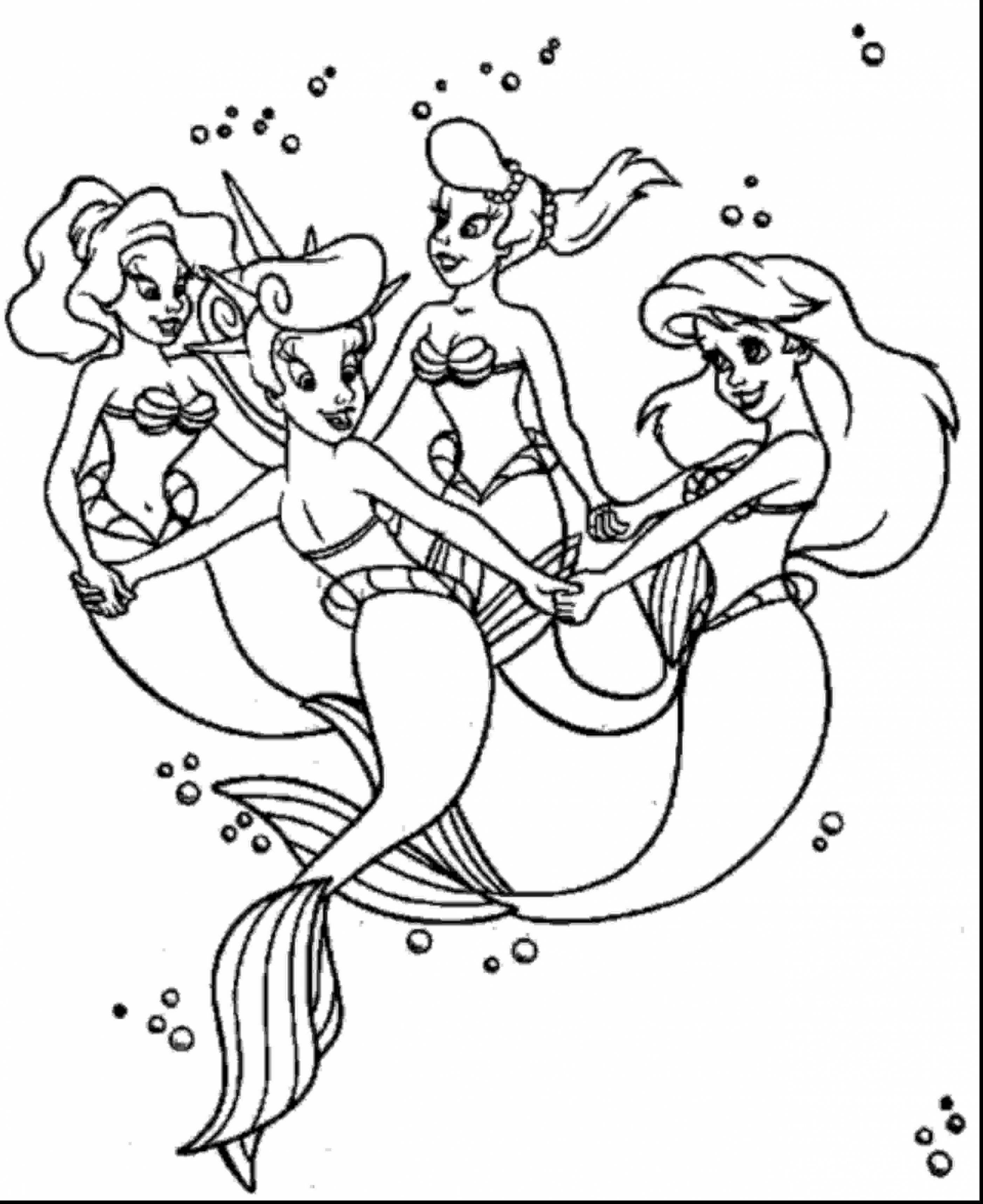 2806x3435 The Little Mermaid Vanessa Coloring Pages Free Draw To Color