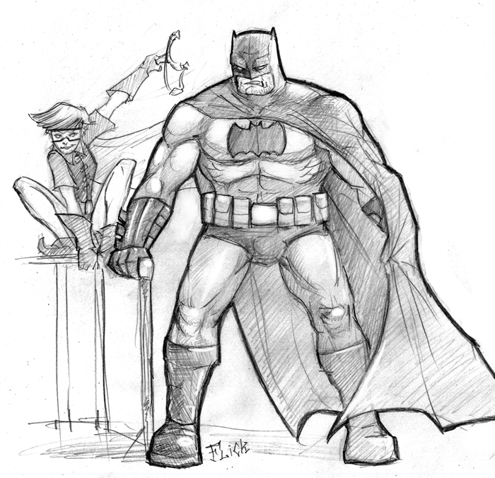 Arkham Knight Drawing at GetDrawings.com   Free for personal use ...