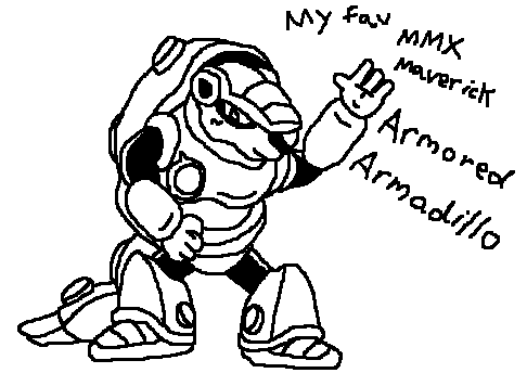 486x344 Armored Armadillo Free Hand Drawing By Icepony64