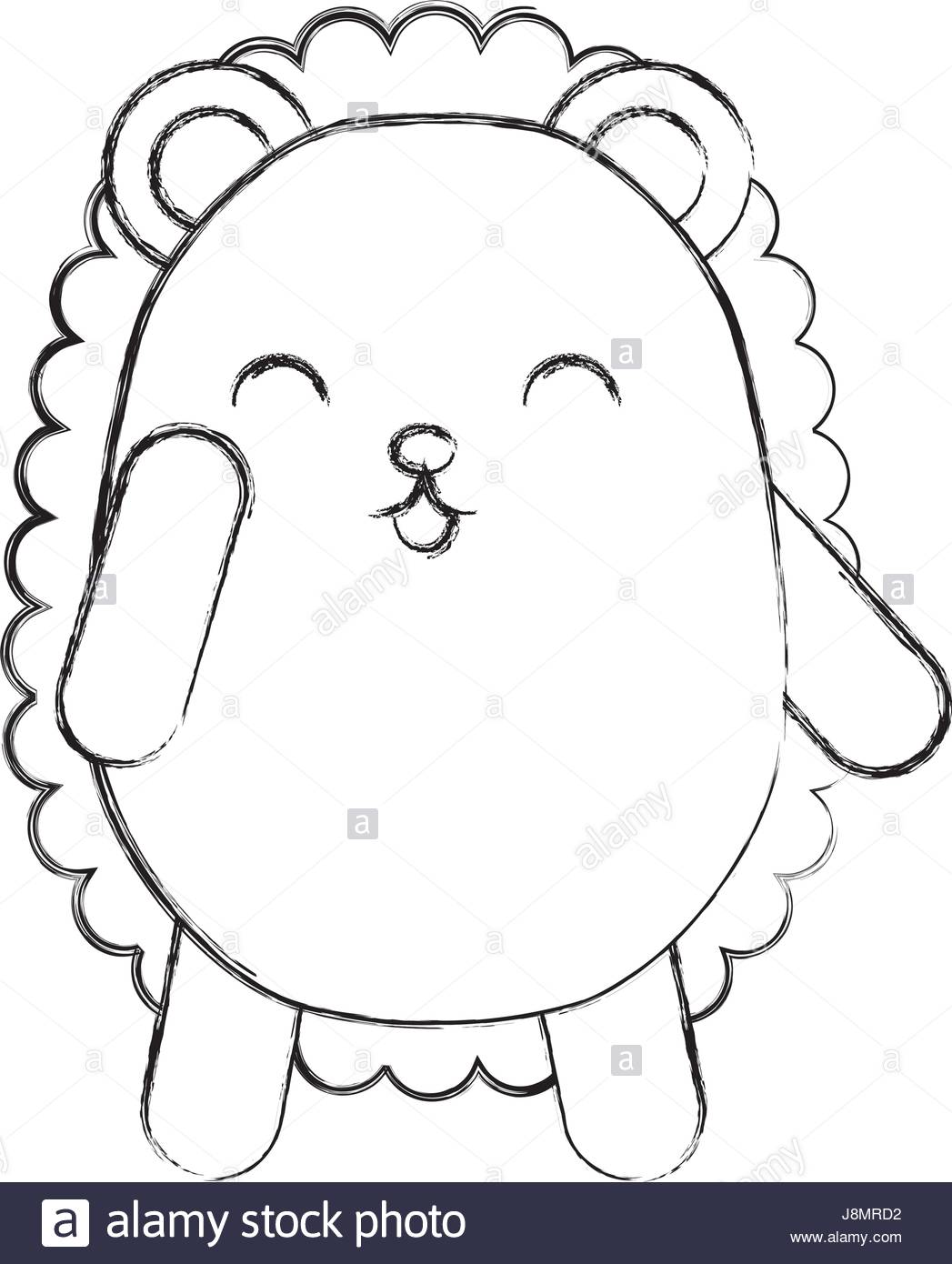 1047x1390 Cute Sketch Draw Armadillo Cartoon Stock Vector Art Amp Illustration
