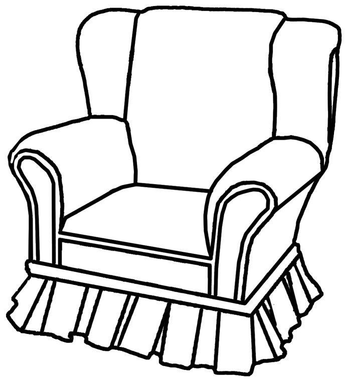Armchair Drawing at GetDrawingscom Free for personal use Armchair