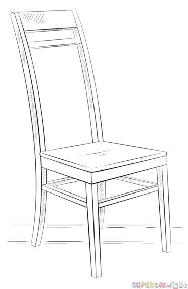 374x575 How To Draw A Armchair
