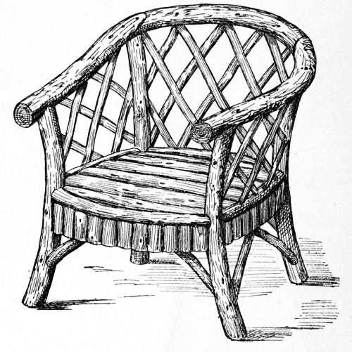 500x501 Armchair Drawing