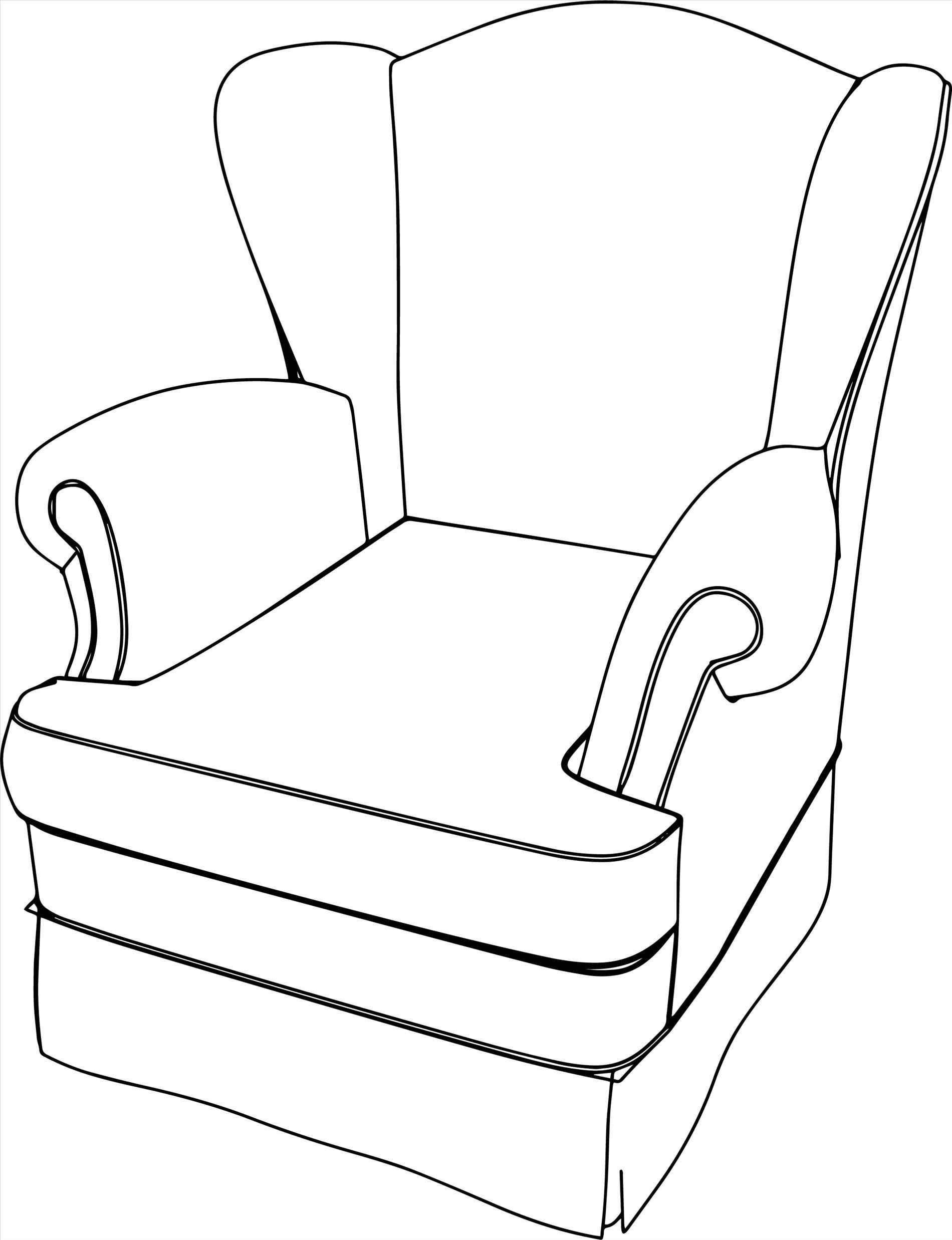 1900x2475 The Images Collection Of Armchair Drawing Clipart Black And White