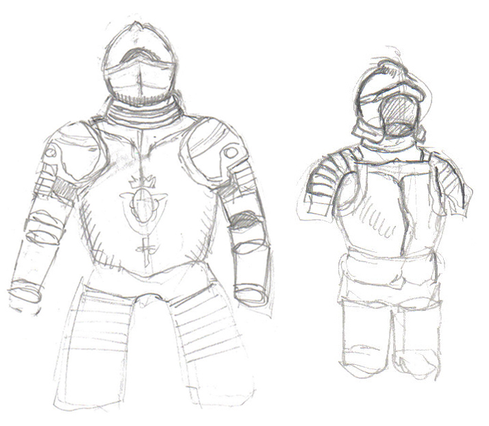 714x622 Quick Sketch Of Medieval Armor By Mmawolf