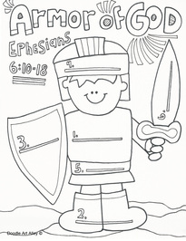 205x266 Armor Of God Coloring Pages