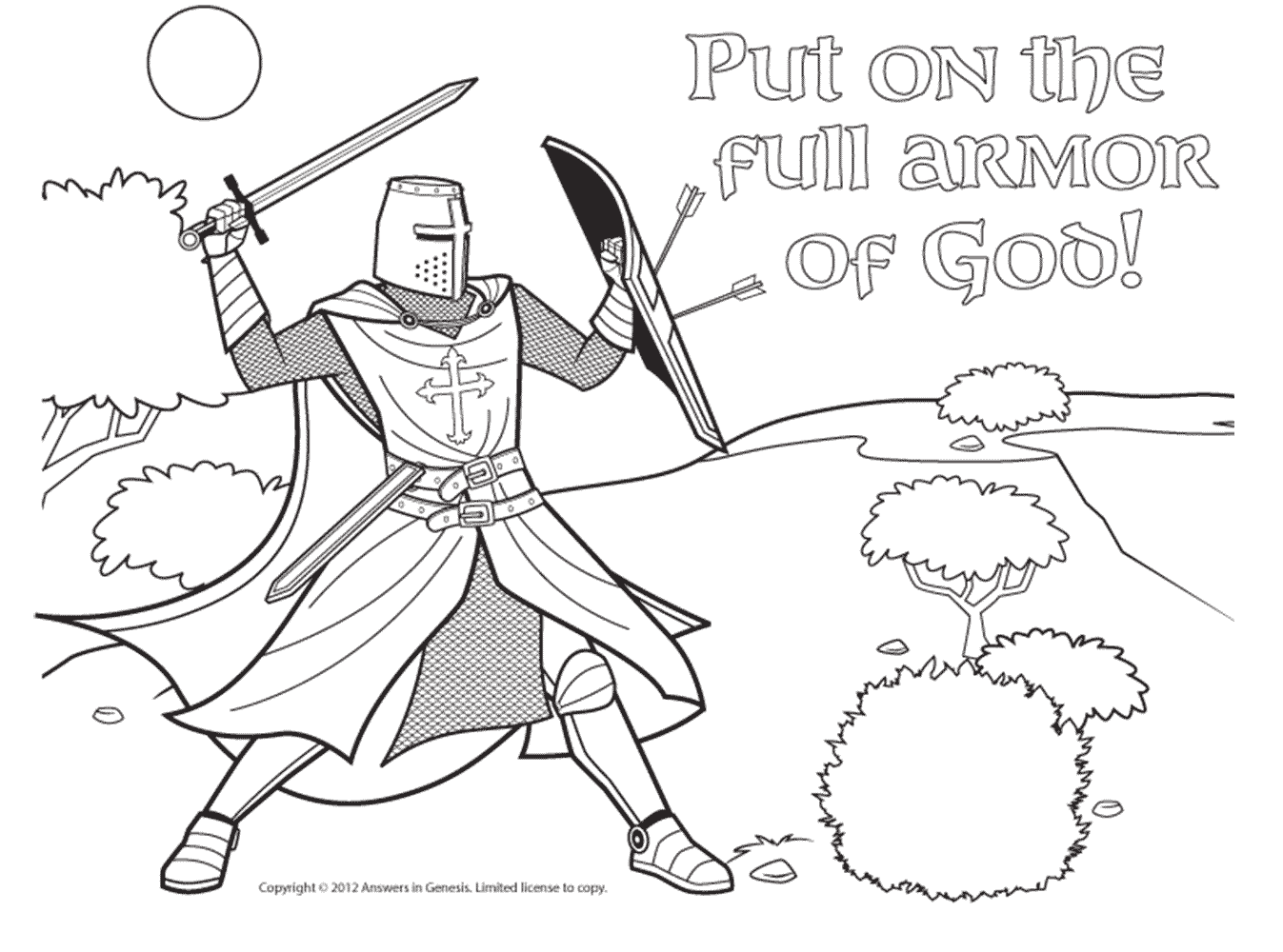 1347x1000 Armor Of God Gt Cc C2 Eph 6 Verses Cc Cycle 2