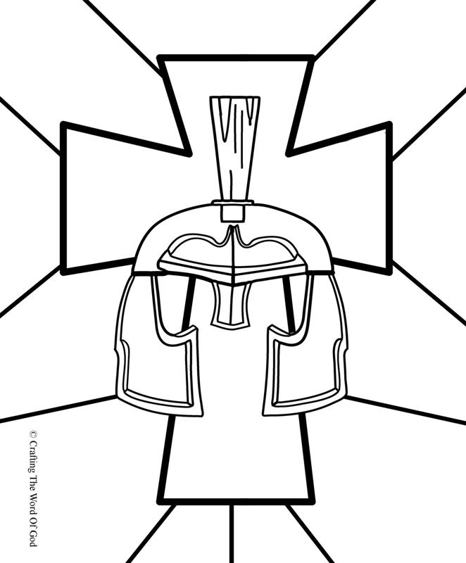 662x800 Great Coloring Pages For All The Armor Of God Bible Story