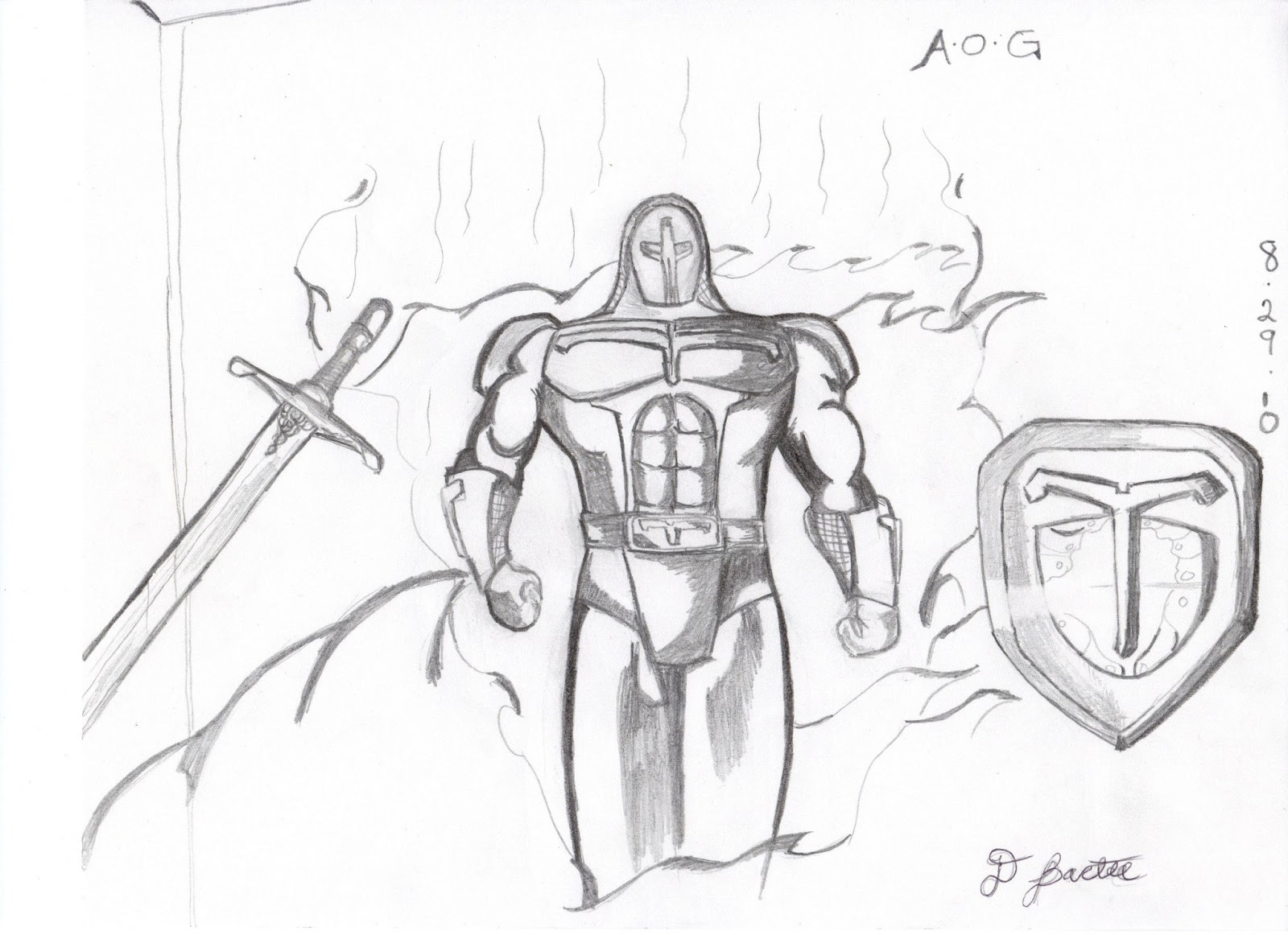 1600x1162 Keltrius And The Armor Of God Old Drawings Of The New Christian