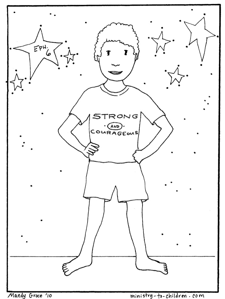 728x966 Modest Armor Of God Coloring Pages Free Downlo
